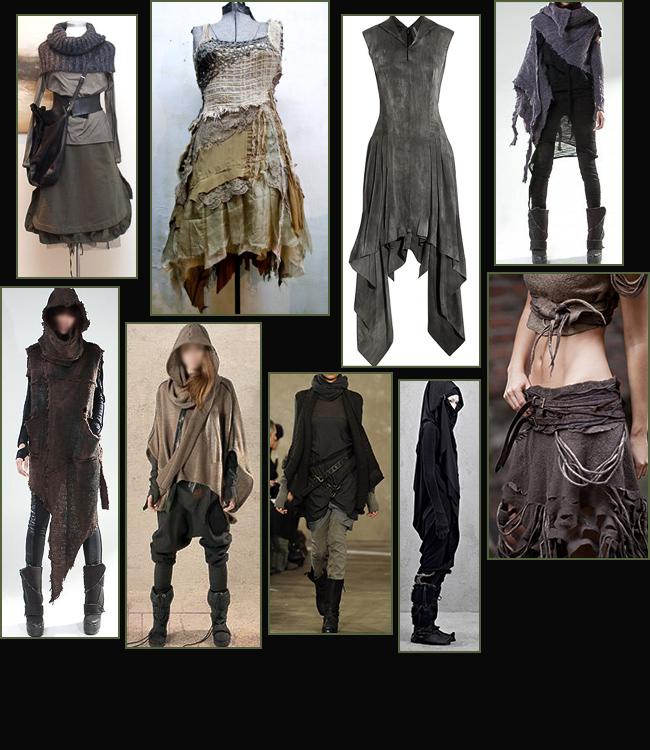 Si indossano spesso anche più strati ed è diffuso l uso di cappotti e  pellicce o di giacconi e mantelle incerate per proteggersi dalle frequenti  piogge. e8372e7d548